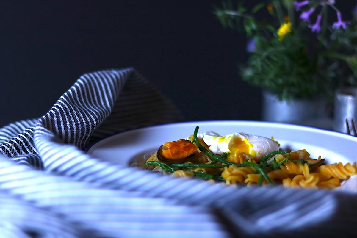 Fusilis de lentilhas com mexilhão - 3
