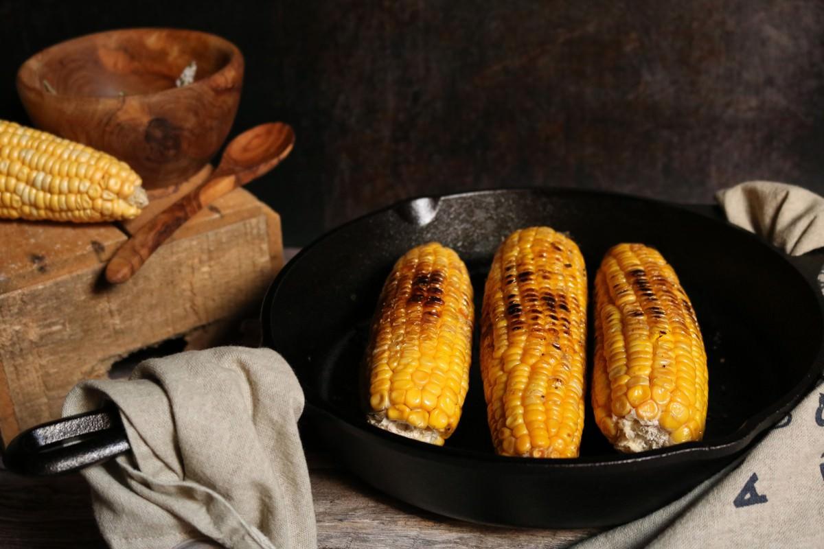 Maçarocas de Milho Doce Fritas - 0