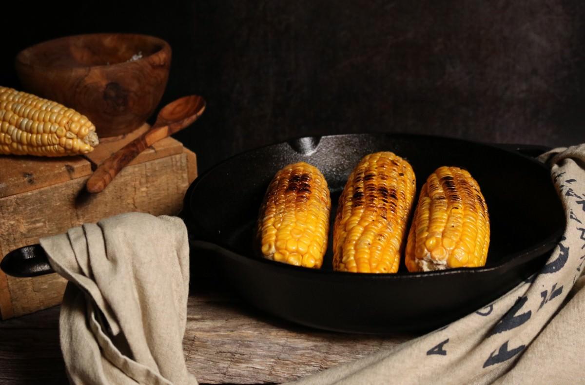 Maçarocas de Milho Doce Fritas