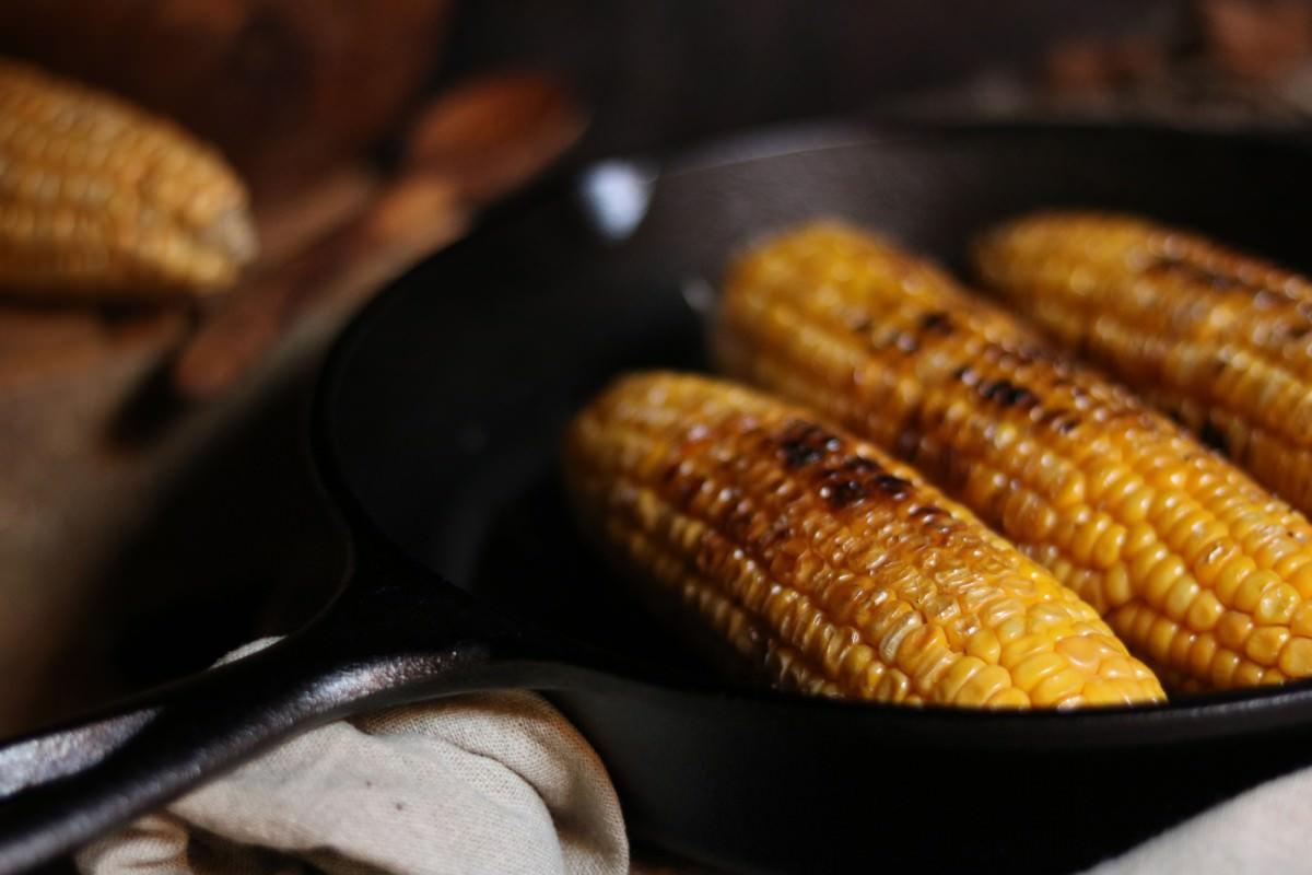 Maçarocas de Milho Doce Fritas - 1