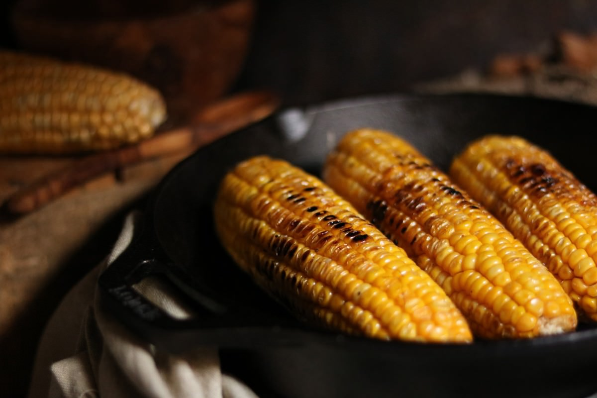 Maçarocas de Milho Doce Fritas - 2