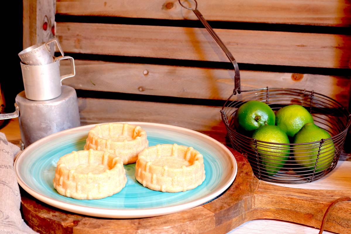 Cestinhas de sémola de milho e frutos - 3