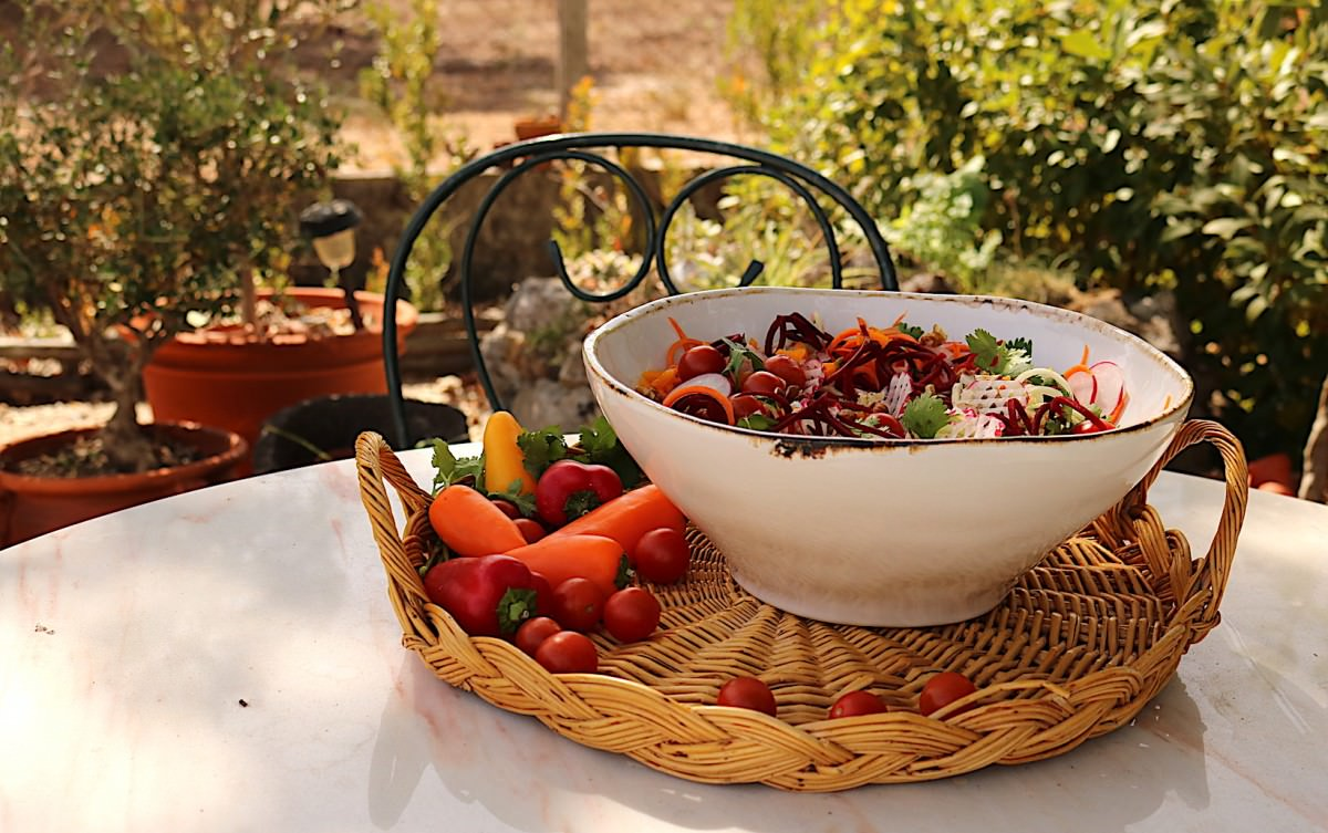 Salada de courgette