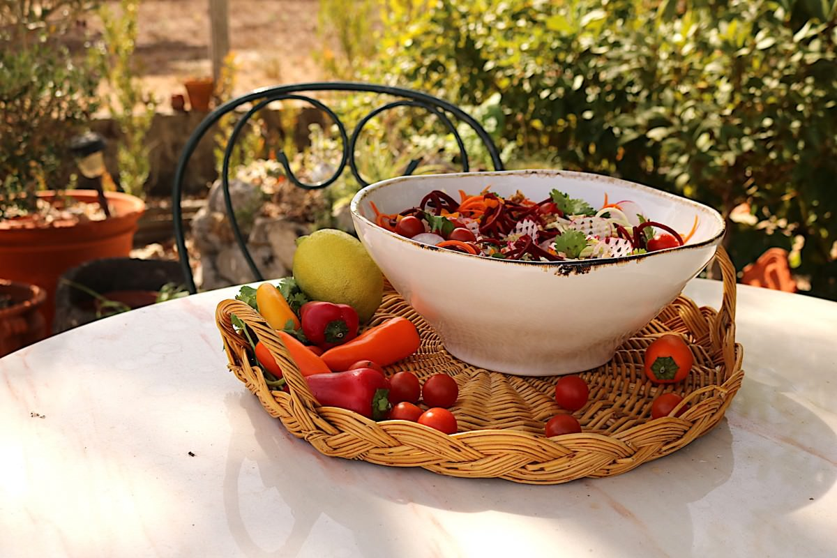Salada de courgette - 0