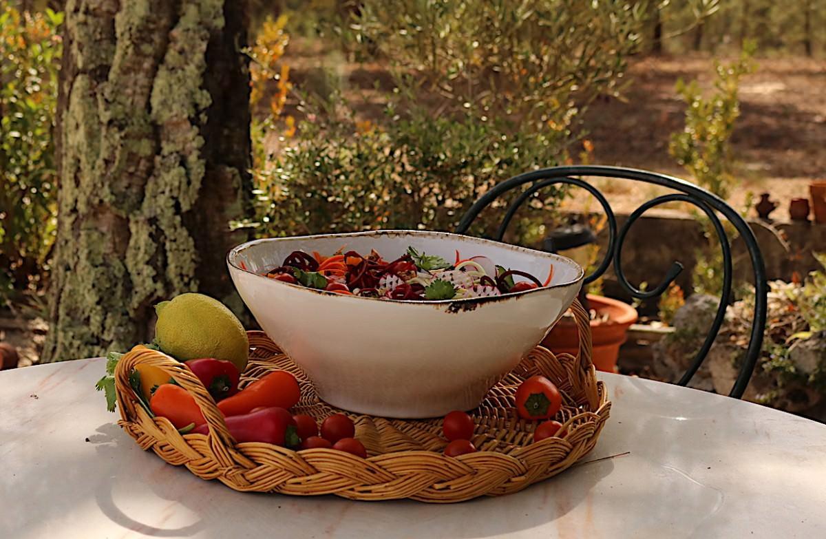 Salada de courgette - 1