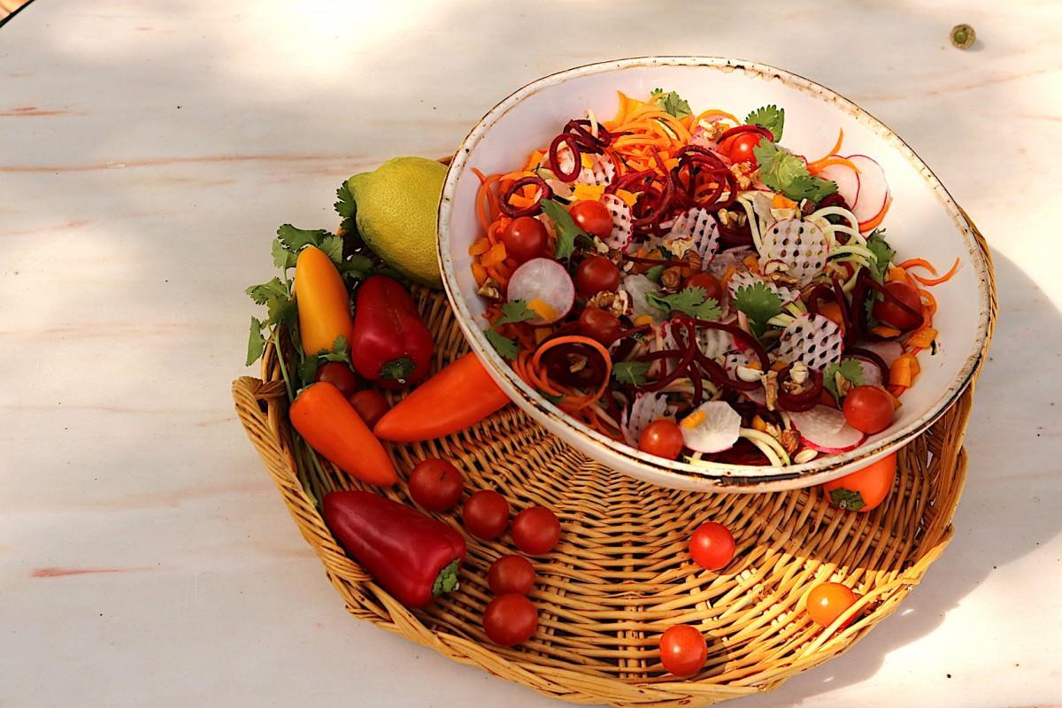 Salada de courgette - 2