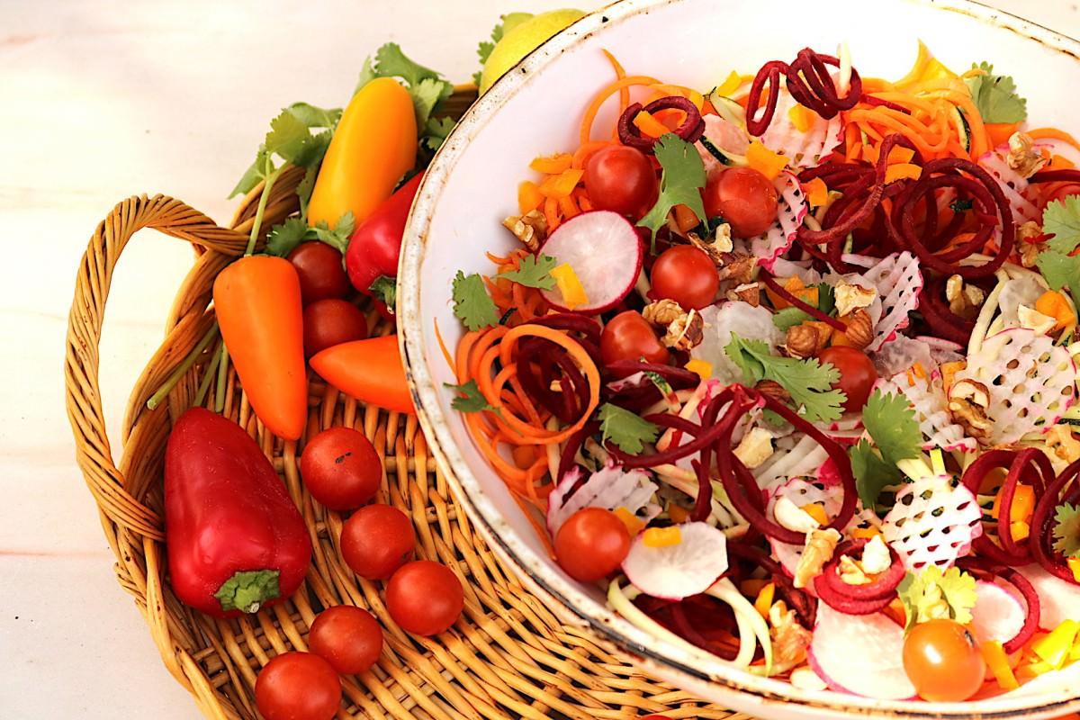 Salada de courgette - 4