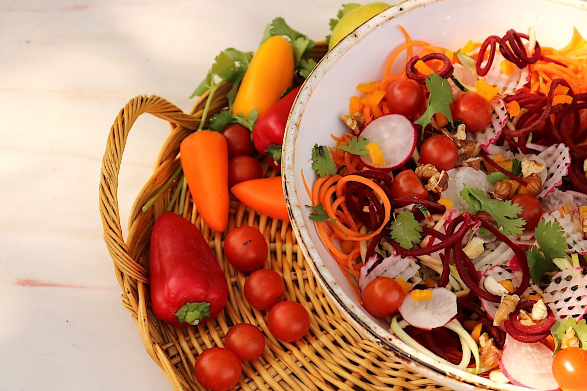 Salada de courgette - 5