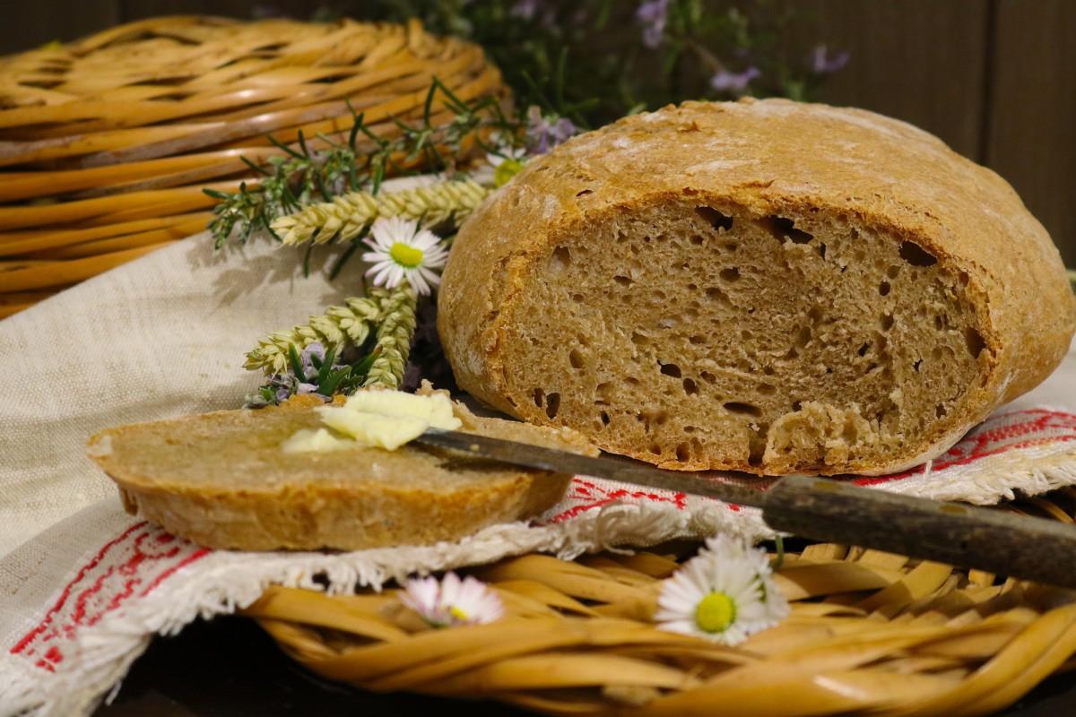 Pão de Farinha de Espelta Integral
