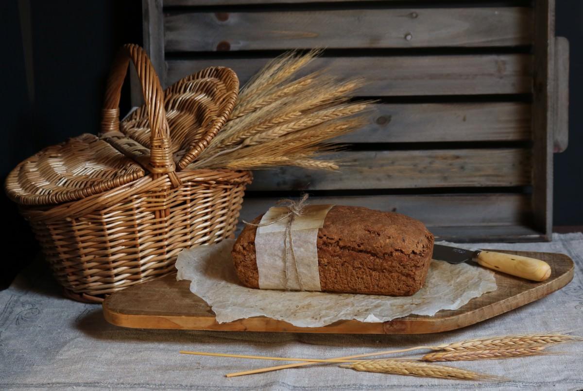 Pão de mistura sem glúten