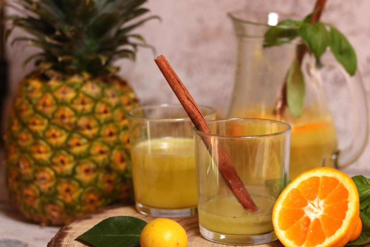 Água de Coco com Abacaxi e Manjericão - 0