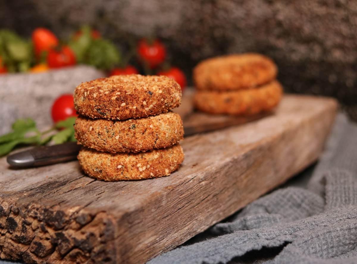 Hambúrguer de feijão azuki e lentilhas vermelhas - 2
